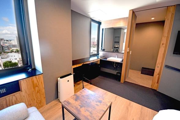 新しい客室!UDダブルルーム《驚きの22平米!》【朝食付】