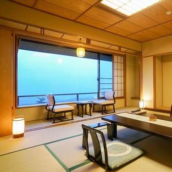 東館最上階・和室12畳・上州の大パノラマを満喫!【禁煙】