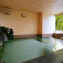 【東館1F・大浴場・「花香る湯」やまぶき】夜通しご利用頂けます。思う存分温泉を楽しんでください。
