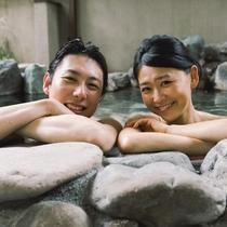 【恋人との温泉デート旅行】3種の貸切風呂無料に夕食時飲み放題が無料。晴観荘カップルプラン