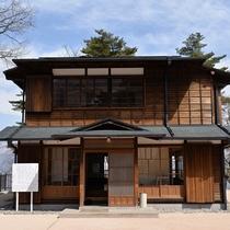 【ハワイ王国公使別邸】当館より徒歩14分。日本に現存するハワイ王国の数少ない建物のひとつです。