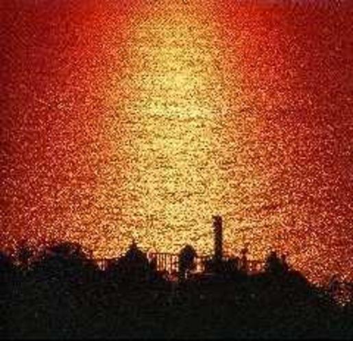 恋人岬の夕景