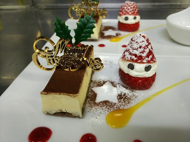 クリスマスディナーをご用意致します。
