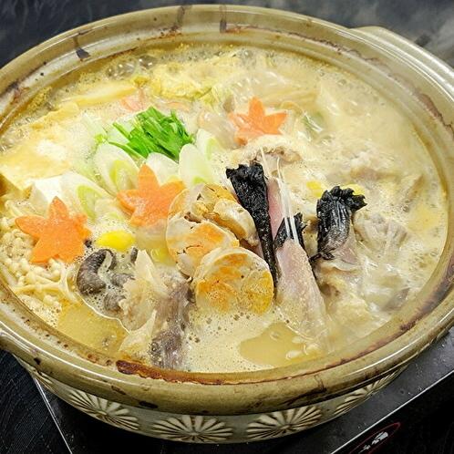 冬の味覚「あんこう鍋」を堪能