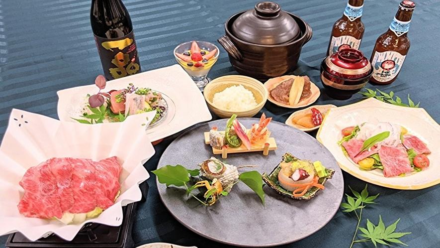 【料理】常陸牛のホテルグルメディナープラン