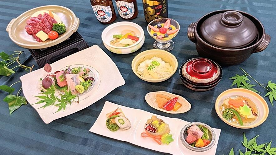 【料理】初夏のホテルグルメディナープラン