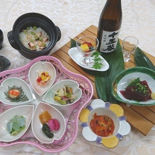 2食付きファミリープラン(夕食内容一例)