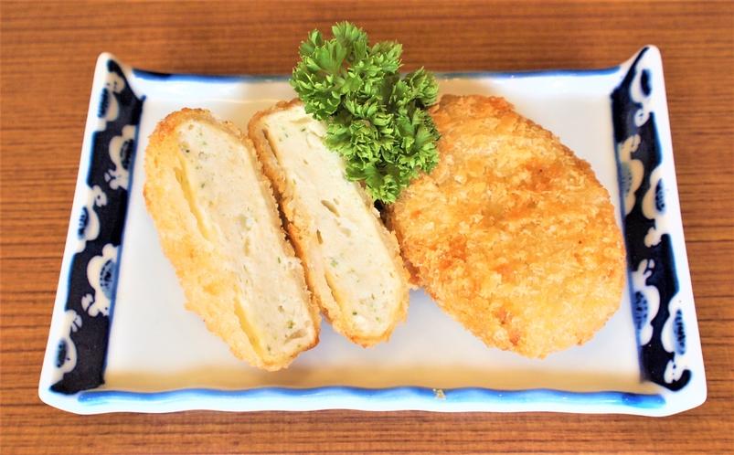 ゆばと豆腐のサクサクコロッケ
