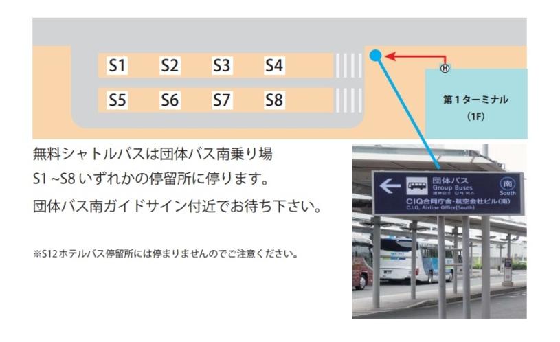 関西空港乗り場詳細