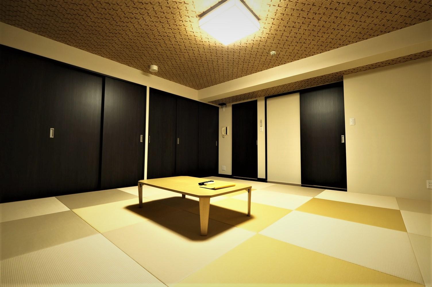 Wタイプ 12.5畳の和室になります。