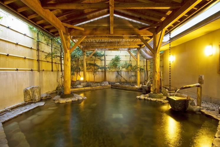 柿の湯【露天風呂】