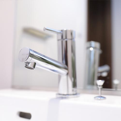 【客室】清潔な洗面シンク♪