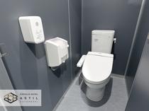 <各階>各フロアに温水洗浄トイレ完備