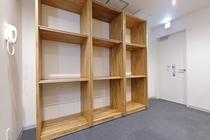 5階 専用大型荷物専用棚