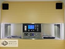 <全寝室>カプセル内を快適に保つための換気ファン。業界初の2基搭載でより快適にお過ごし頂けます。
