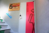 6階女性フロア入口