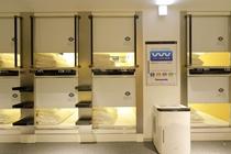 パナソニック空間洗浄機消臭除菌ウイルスウォッシャー各フロア2台設置 館内全10台。24時間稼働