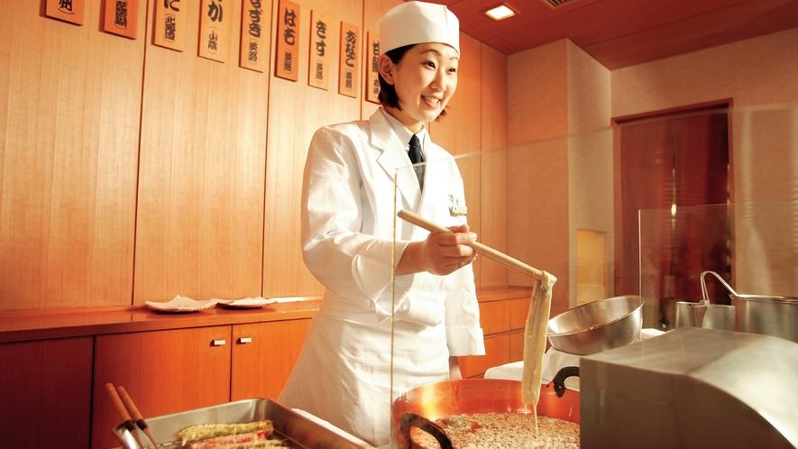 和食 清水 [日本料理] 天婦羅カウンター