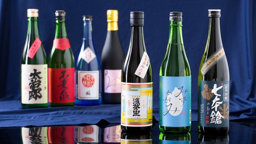 和食 清水 [日本料理] 近江の地酒イメージ