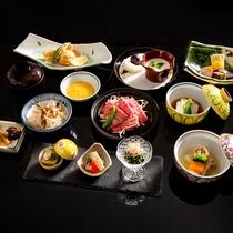 「焼き物に思いを馳せる旅プラン」ご夕食イメージ