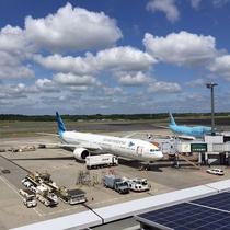 成田空港 展望