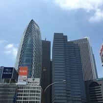 JR新宿駅西口周辺