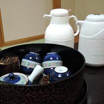 *[客室イメージ]ご到着したら、まずはお茶で一服!ごゆっくりとお寛ぎ下さい