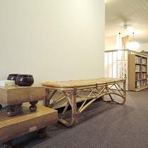 *[館内]2階・廊下<囲碁・将棋などをご用意ご自由にお使いいただけます