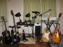 下の棟 音楽部屋