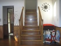 上の棟 階段