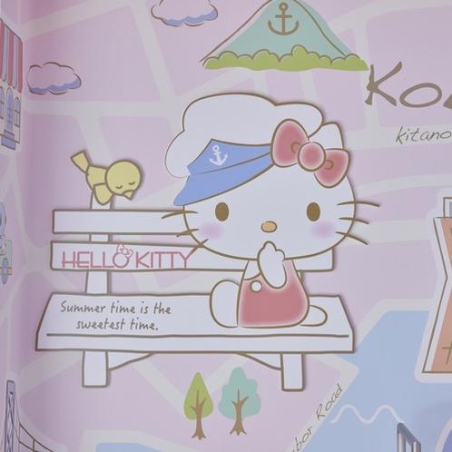 ハローキティのおさんぽ in Kansai ルーム