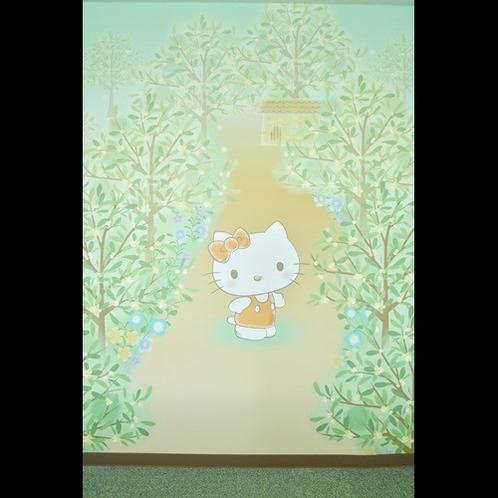 ハローキティのヴィスキオの森ルーム