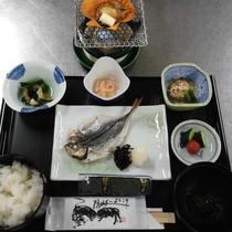 【朝食一例】隠岐の魚に隠岐コシヒカリ、ご飯がどんどん進みます。