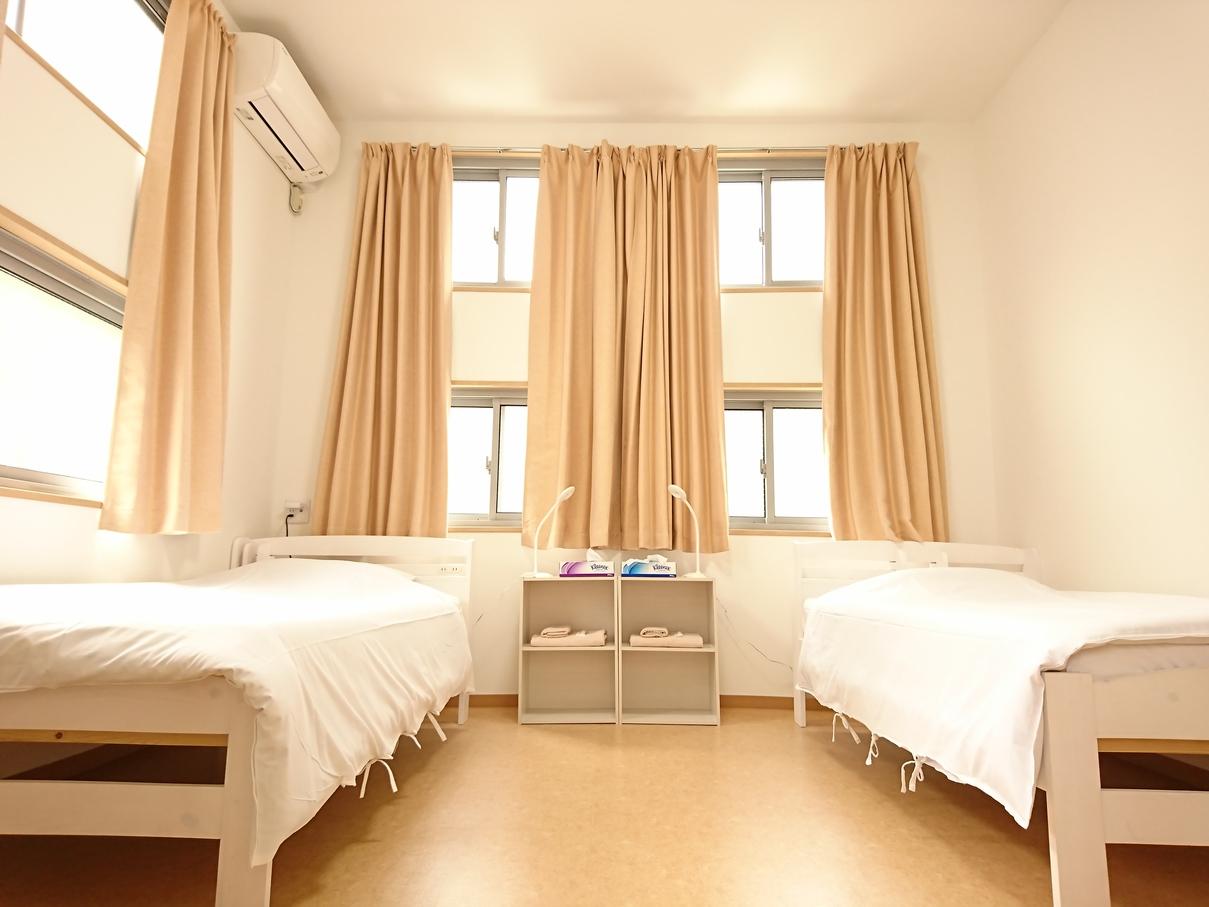 2階女性専用フロアツインルーム(1〜3名様) 正面