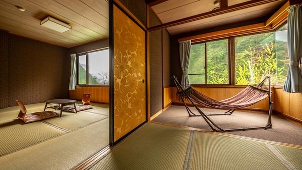 ◆【禁煙】和室4.5畳+7.5畳(お布団敷きのお部屋)