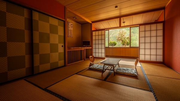 ◆【禁煙】特別室(源泉かけ流し風呂&屋外ドッグラン付き和室)