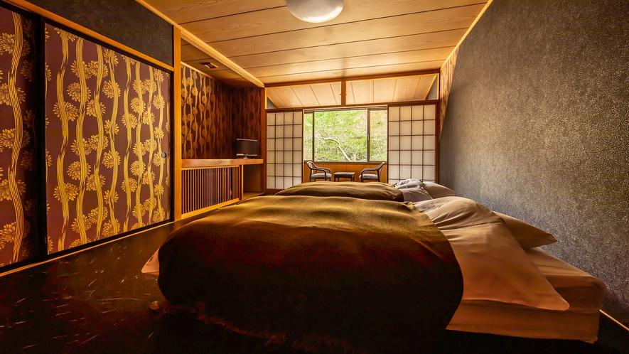 客室【無花果】和室10畳+ベッドルーム+屋内ドッグラン 贅沢なお部屋♪