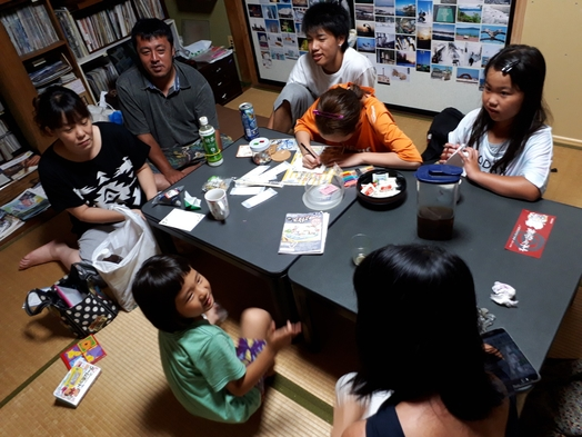 【鬼太郎列車に乗ろう!/公共交通機関で来られる「ご家族・親子」限定プラン(中学生は子ども料金)】