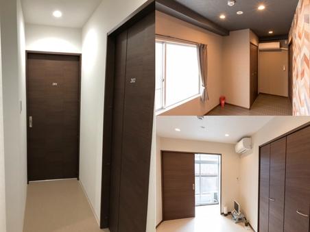 1室2部屋各洋室201 202