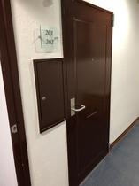 201 202 1室2部屋入口