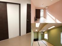 1室2部屋室内306 307
