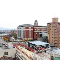 京都市内の眺望