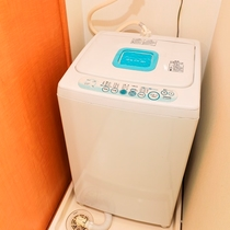 客室内 洗濯機