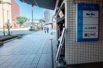 金沢駅から徒歩3分です。