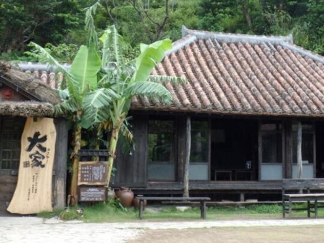 アグーと沖縄料理と沖縄そばの店「大家(うふやー)」【車で15分】