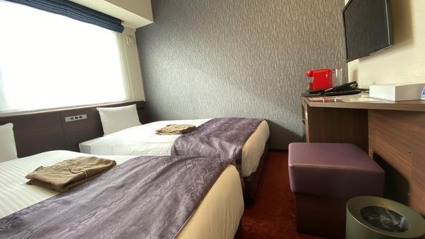 カジュアルツイン(禁煙) ベッド幅110cm×2台