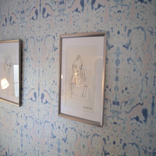 お部屋の各所に様々な装飾も。