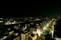 9F ラウンジからの夜景
