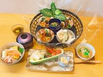 かめやプラン料理(一例)