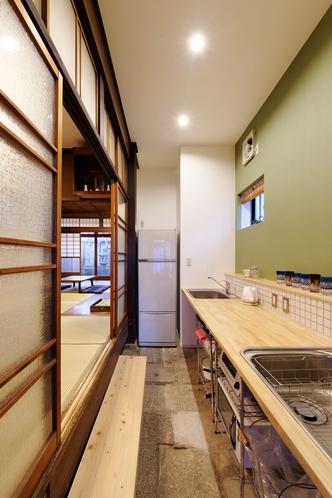 ㉟土間キッチン